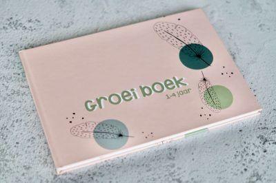 JEP! Kids Groeiboek baby naar kleuter – Mellow roze Invulboek peuter
