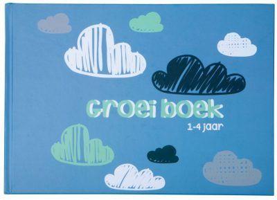 JEP! Kids Groeiboek baby naar kleuter – Oudblauw Invulboek peuter