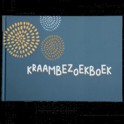 JEP! Kids Kraambezoekboek – Donkergrijs Kraambezoekboek