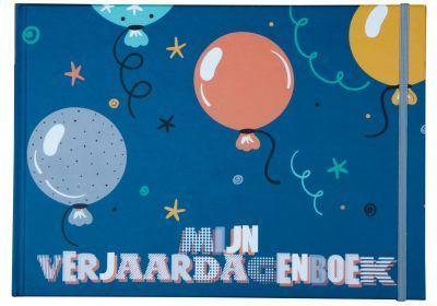 JEP! Kids Mijn verjaardagenboek – Indigo blauw Cadeauboeken