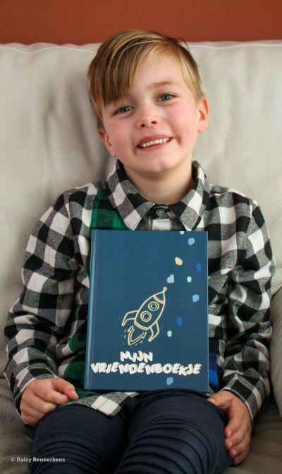 JEP! Kids Mijn vriendenboekje jongen – Smaragdgroen Vriendenboekje