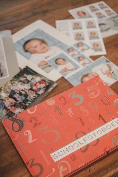 JEP! Kids Schoolfotoboek – Kersenrood Schoolfotoboek