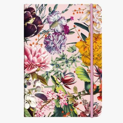 Notitieboek Flower Greetings met dots – A5 Bullet Journal