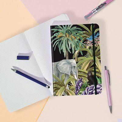 Notitieboek Jungle met dots – A5 Bullet Journal