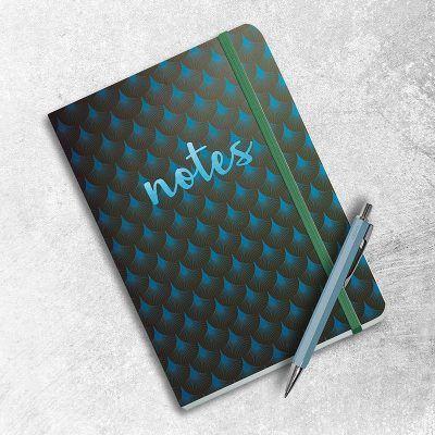Notitieboek Metallic Notes Green met dots – A5 Bullet Journal