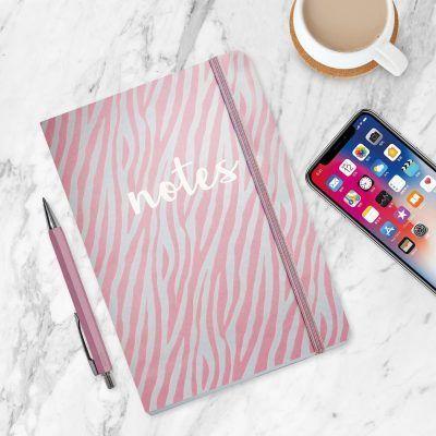 Notitieboek Metallic Notes Pink met dots – A5 Bullet Journal