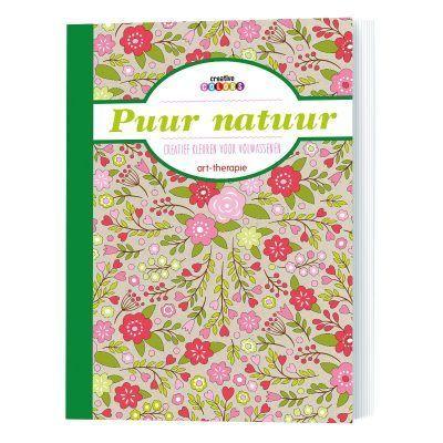 Puur natuur kleurboek Kleurboek voor volwassenen