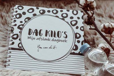 SilliBeads Dag kilo's afslankdagboek Dieetboek