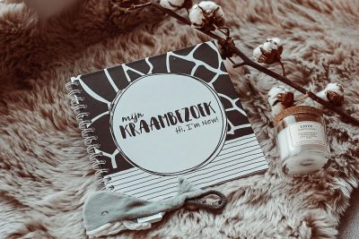 SilliBeads Het Kraambezoek invulboekje – Panterprint Kraambezoekboek
