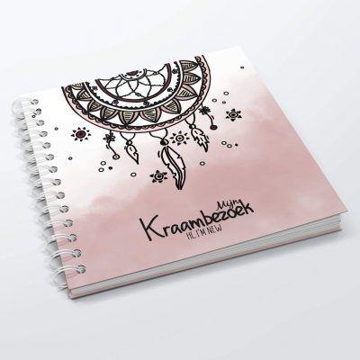 SilliBeads Het Kraambezoek invulboekje – Roze Kraambezoekboek