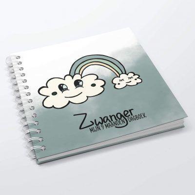 SilliBeads Mijn 9 maanden dagboek – Groen 9 maanden dagboek