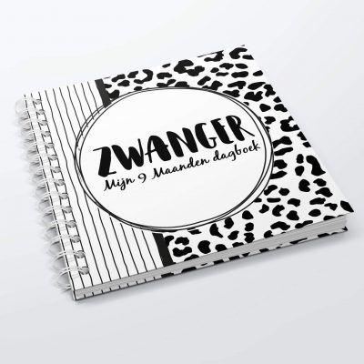 SilliBeads Mijn 9 maanden dagboek – Panterprint 9 maanden dagboek