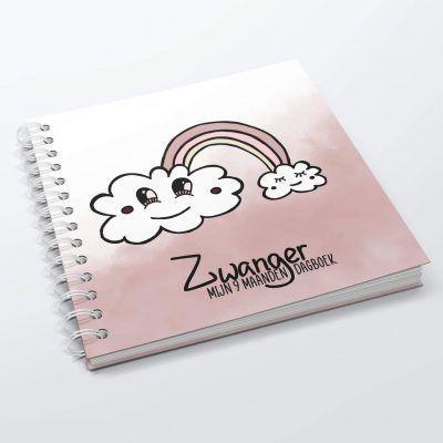 SilliBeads Mijn 9 maanden dagboek – Roze 9 maanden dagboek