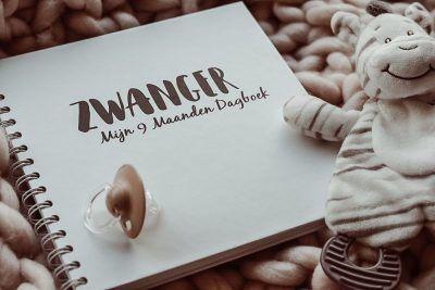 SilliBeads Mijn 9 maanden dagboek – Zwart-wit 9 maanden dagboek
