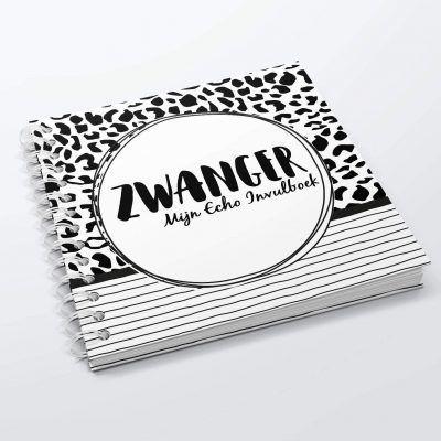 SilliBeads Mijn Echo invulboek – Panterprint – Hardcover wire-O Echoboekje