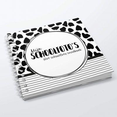 SilliBeads Mijn Schoolfoto's – Panterprint – Hardcover wire-O Schoolfotoboek