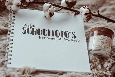 SilliBeads Mijn Schoolfoto's – Zwart-wit Schoolfotoboek