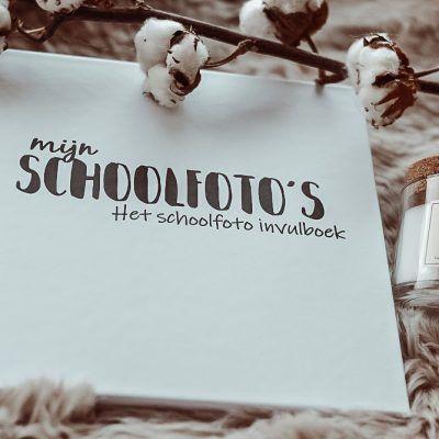 SilliBeads Mijn Schoolfoto's – Zwart-wit – Hardcover wire-O Schoolfotoboek