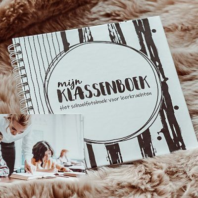 SilliBeads Mijn klassenboek – Hardcover wire-O Klassenboek
