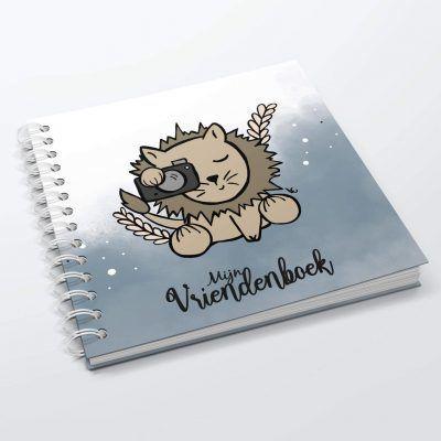 SilliBeads Mijn vriendenboekje – Leeuw Vriendenboekje