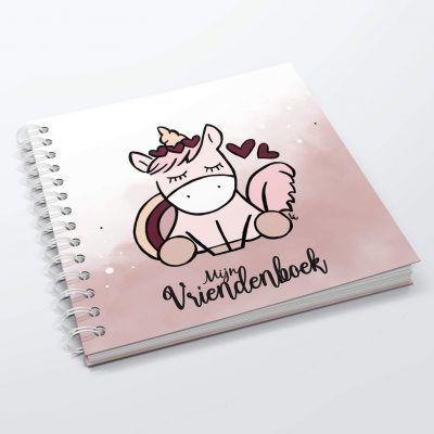 SilliBeads Mijn vriendenboekje – Unicorn Eenhoorn boek