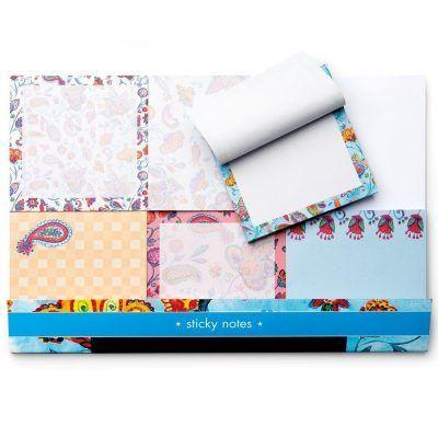 Sticky notes Flowers (6 stuks) Memoblok