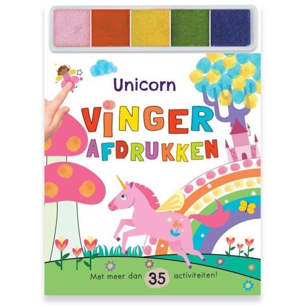 Unicorn – Vingerafdrukken knutselboek Eenhoorn boek