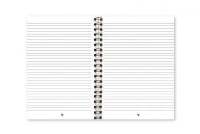 Fyllbooks Notitieboek 'Why be moody' – A4 Cadeauboeken