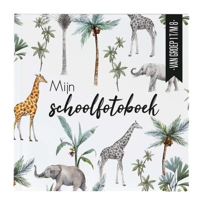 24/7 Stoer – Mijn Schoolfotoboek jungle Schoolfotoboek