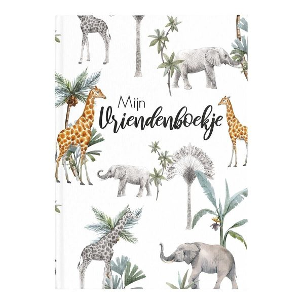 24/7 Stoer – Mijn vriendenboekje jungle Vriendenboekje