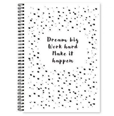 Fyllbooks Notitieboek 'Dream big' – A5 Cadeauboeken