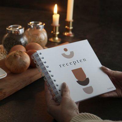 NodyLife Receptenboekje – Abstract Recepten invulboek