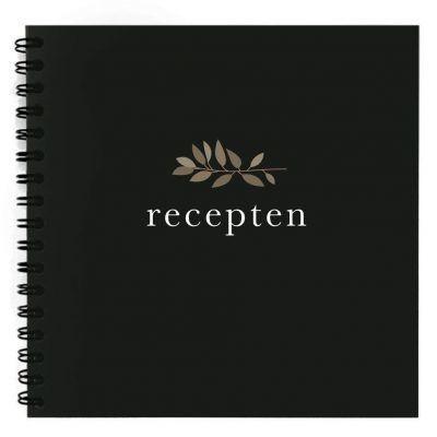 NodyLife Receptenboekje – Black Recepten invulboek