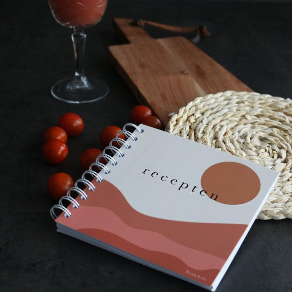 NodyLife Receptenboekje – Sun Recepten invulboek
