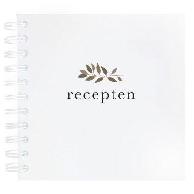 NodyLife Receptenboekje – Wit Recepten invulboek