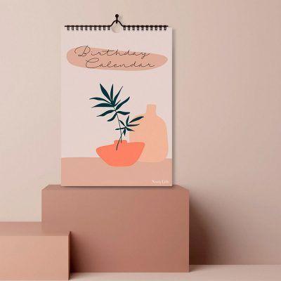 NodyLife Verjaardagskalender – Boho Jaarkalender