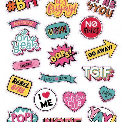 Stickerboek – 1000 Hugs & Kisses Scrapbook stickers