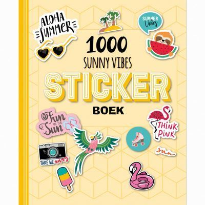 Stickerboek – 1000 Sunny Vibes Scrapbook stickers
