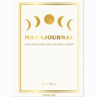 Maanjournal Dagboek voor volwassenen