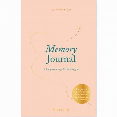Memory Journal Dagboek voor volwassenen