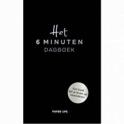 Het 6 minuten dagboek – Zwart 6 minuten dagboek