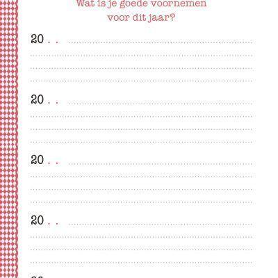 Een vraag per dag – Dagboek voor 5 jaar Elke dag een vraag dagboek