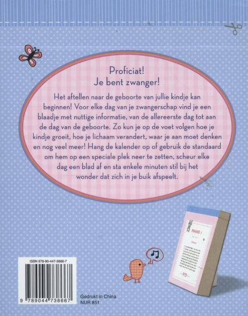 Scheurkalender Mijn zwangerschap Scheurkalender 2022