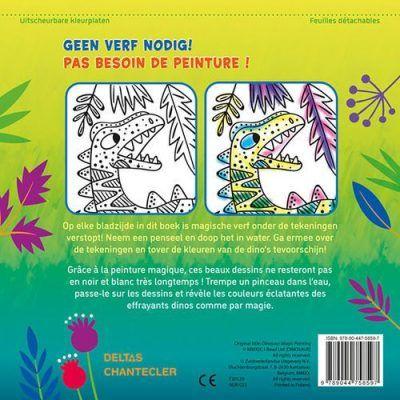 Dino Magic Color Schilderen met water – Kleurboek Dino kleurboek