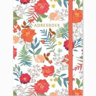 Adresboek Flowers – A6 Adresboek