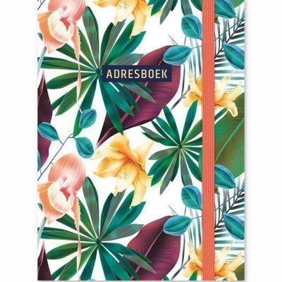 Adresboek Tropical – A6 Adresboek