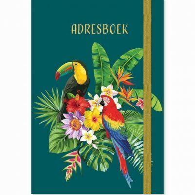 Adresboek Tropical Birds – A6 Adresboek