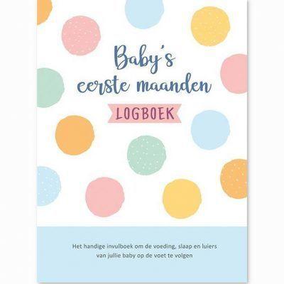 Baby's eerste maanden logboek Baby logboek