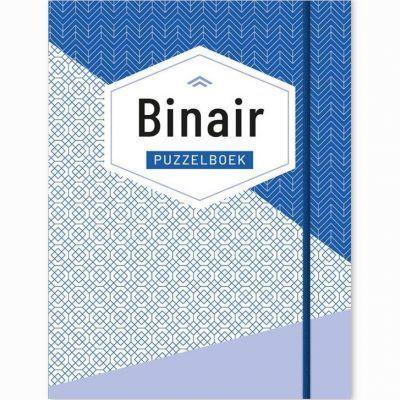 Binair Puzzelboek – Blauw Puzzelboeken