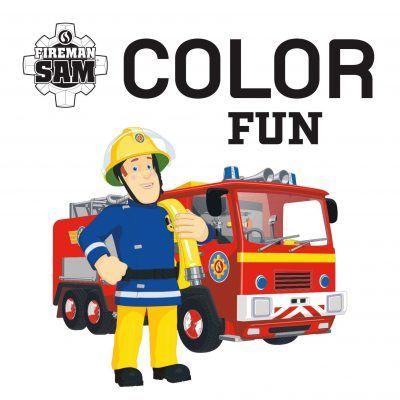 Brandweerman Sam Color Fun kleurboek Kleurboeken voor jongens